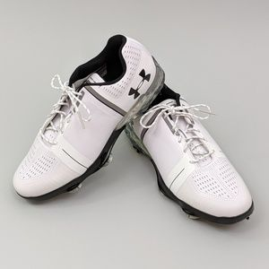 Under Armour Speith One Golf Shoes Spikes White